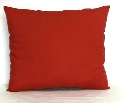 Toddler Pillow on Red Cotton 1-9 New Handmade