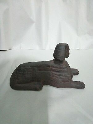 RARE ANTIQUE ANCIENT EGYPTIAN Sphinx Pyramids Giza 1400 Bc