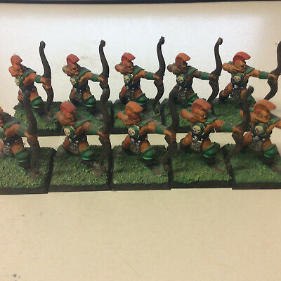 Warhammer Battle Masters Chaos Thugs with bows OOP painted x 10