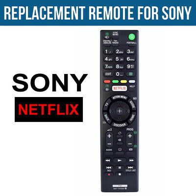 AU Netflix For SONY TV Remote Control Replacement Bravia 4k Ultra HD Smart TV