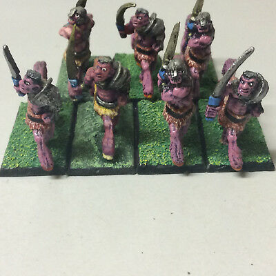 Warhammer Chaos Centaurs OOP painted x 7 recasts