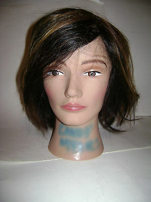 Pivot Point 100% Human Hair Mannequin Head Erika Best For Color Cut Style 036