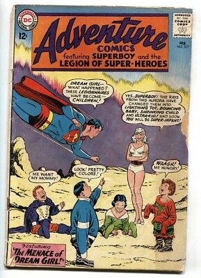 ADVENTURE COMICS #317 comic book SUPERBOY 1st appearance DREAM GIRL