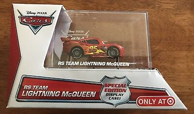 Disney Pixar Cars - RS Team Lightning McQueen Special Edition with Display Case