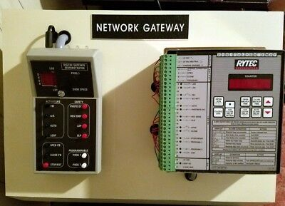 Rytec DG1200 Digital Network Gateway Demonstrator Door Logic Relays Controller