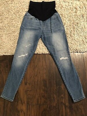 Women's Maternity Medium Wash Jeggings Liz Lange NWOT XS