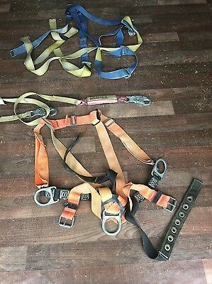 LOT of 2 --- Rescue Harness + Gemtor Shock Absorber Used