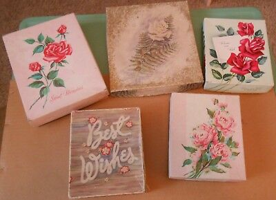 MIXED LOT---Vtg GREETING CARDS w/BOXES-JUVENILE-HOLIDAYS-NOVELTIES-UNUSED & USED