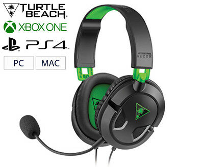 Turtle Beach Ear Force Recon Gaming Headset For Xbox One & PC - Black/Green