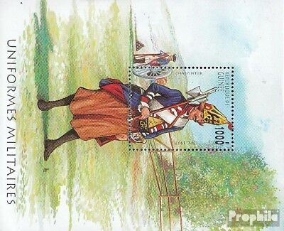 Guinea Block511 unmounted mint / never hinged 1997 Prussian Uniforms