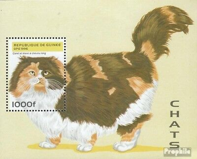 Guinea block504 unmounted mint / never hinged 1996 Cats