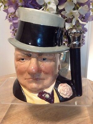 Royal Doulton Large Character Jug Wc Fields In Excellent Condition