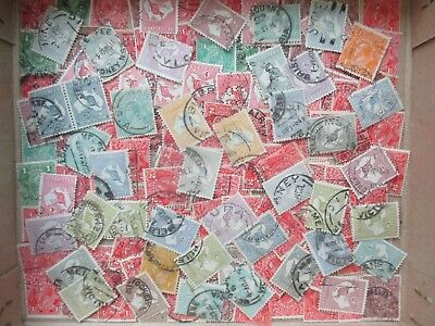 ESTATE SALE: Kangaroo to £1 and KGV to 1'4 - Unchecked  FREE POST (2383)