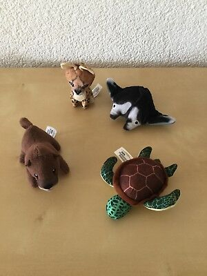 4 Mc Donalds Tiere National Geopraphic Stofftier *NEU*