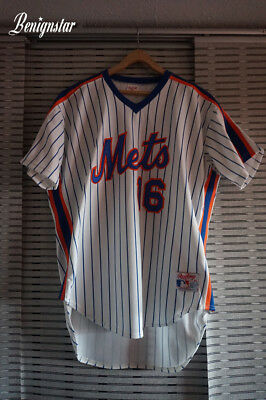 Vintage Dwight Gooden New York Mets Authentic 1988 Baseball Jersey
