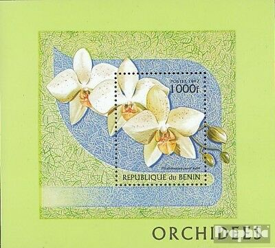 Benin 1152-1157 Unmounted Mint Africa Never Hinged 1999 Orchids Nature & Plants