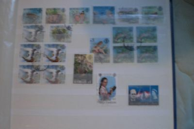 Seychelles-Stamps Used Various  Stamps Total 20 Including 2 Blocks Of 4