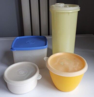 Vintage Tupperware Containers x 4