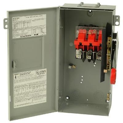 Eaton DH361URK Heavy Duty Disconnect Safety Switch 3P Non-Fusible 30A 600V  NIB!