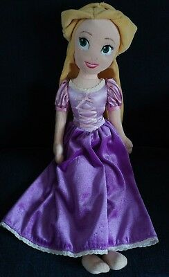 "Disney 21"" Soft Plush Doll Rapunzel From Disney Store"