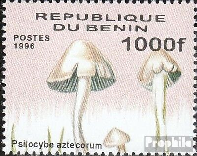 Quality In Never Hinged 1998 Mushrooms Excellent Shop For Cheap Benin 1009 Unmounted Mint