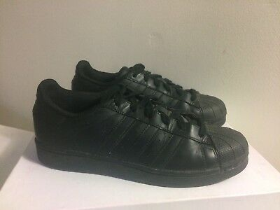 Adidas Originals Superstar Sneakers All Black Size 40