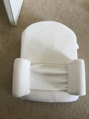 Clevamama ClevaSleep Baby Sleep Positioner Pillow Bed Mattress Flathead Syndrome