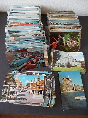 Lot of 1,000 Standard Size Chrome Postcards US & Foreign 1000 Mostly Views