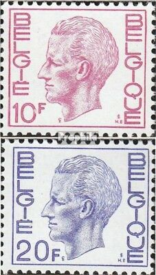 Belgium 1669zy-1670zy fine used / cancelled 1971 King Baudouin