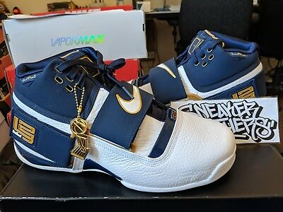 23a0687e95d Nike Zoom LeBron Soldier 1 CT16 QS 25 Straight Midnight Navy White  AO2088-400