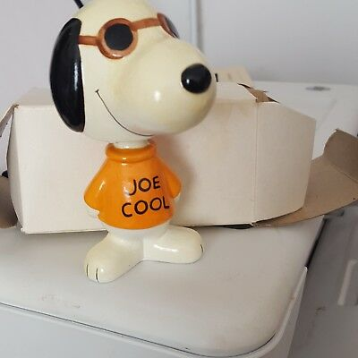 "Joe Cool ""snoopy"" Bobble-Head Figurine"