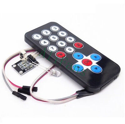 HX1838 Arduino Infrared IR Wireless Remote Control Sensor Module Kits VS1838