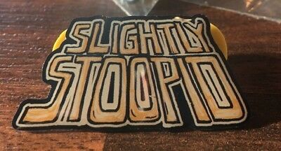 Slightly Stoopid Sounds of Summer Tour Official Merch Stoopidhead Ese Loco