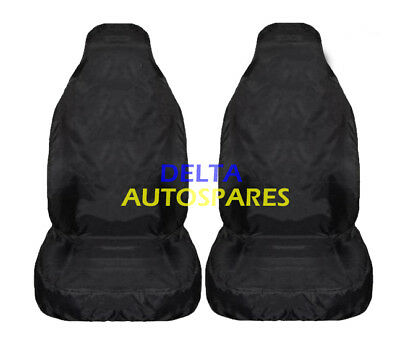 Jaguar Xj Xjr (03-08) Heavy Duty Black Waterproof Car Seat Covers 1+1