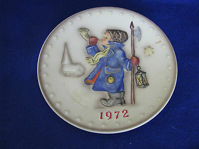 Hummel Goebel Colletor Plate 1972 Annual