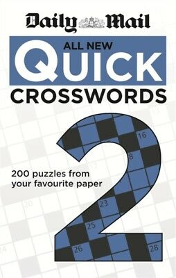 Daily Mail: All New Quick Crosswords 2 (The Daily Mail Puzzle Books) (Pa...