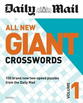 Daily Mail All New Giant Crosswords 1 (The Daily Mail Puzzle Books)...