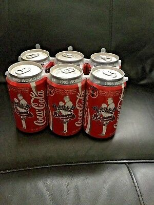 Coca Cola Atlanta Braves World Series Champs 6 Pack