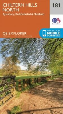 OS Explorer Map (181) Chiltern Hills North (Map)