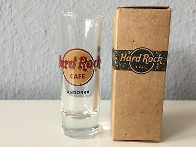 Hard Rock Cafe Shot Glas ANDORRA Classic NEU City Montenegro