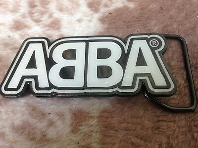 Abba Belt Buckle Mint Never Used Original Museum No Longer Available