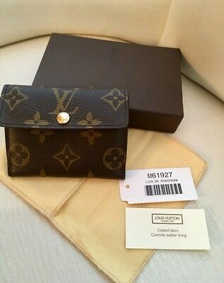 4c652aed016 LOUIS VUITTON MONOGRAM Ludlow Double Fold Small Wallet M61927
