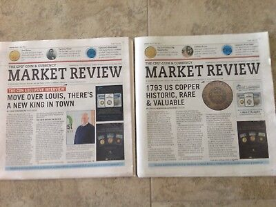 2018 CPG Coin & Currency Market Review magazine/Newspaper (2) Spring-Winter New