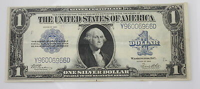 Series Of 1923 U.s $1 Large Silver Certificate Note No Reserve #1654