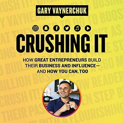 Crushing It! by Gary Vaynerchuk (Audiobook) INSTANT EMAIL DELIVERY
