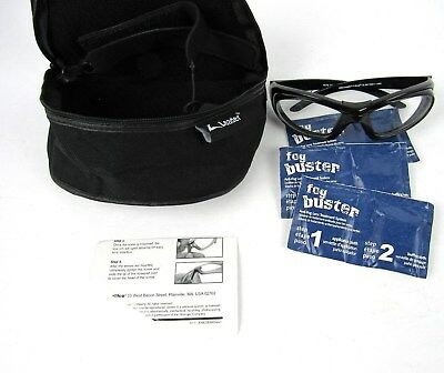 LEADER T-Zone Clear Black Sport Protective Eyewear Adult Goggles 7930-1