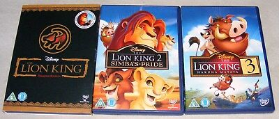 The The Lion King 1 2 3 Trilogy, The Lion King, Simba's Pride and Hakuna Matata