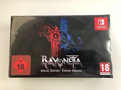 Bayonetta 1 & 2 Special Edition New Nintendo Switch Game EUROPEAN IMPORT