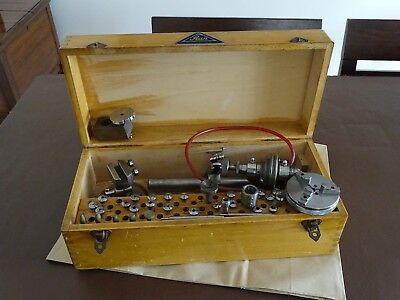 Watchmakers Lathe STAR Fab Swisse + Parts Boxed
