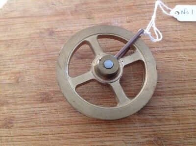 Clock Wheel Pulley From Clockmakers Spare Parts 61mm Diameter For Gut To 3mm App